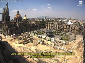 Preview webcam image Guadalajara - Plaza de Armas