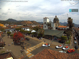 Preview webcam image Tacámbaro - Plaza del Pueblo