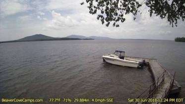 Preview webcam image Beaver Cove - Moosehead Lake