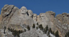 Preview webcam image Mount Rushmore