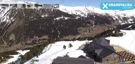 Preview webcam image El Tarter - Soldeu