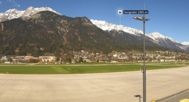 Preview webcam image Airport Innsbruck