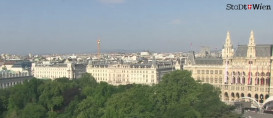 Preview webcam image Vienna - Burgtheater