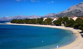 Preview webcam image Promajna beach