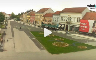 Preview webcam image Koprivnica - Zrinski market
