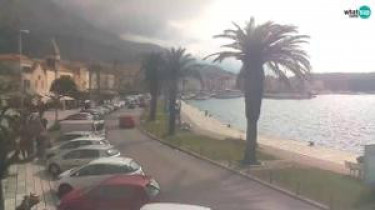 Preview webcam image Makarska - Riva King Tomislav