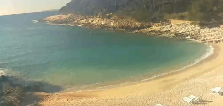 Preview webcam image Mali Lošinj - Suncana Uvala Beach - Veli Žal
