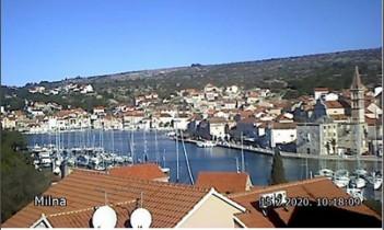 Preview webcam image Milna - island Brac