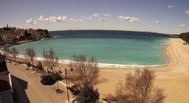 Preview webcam image Primošten - Mala Raduča Beach