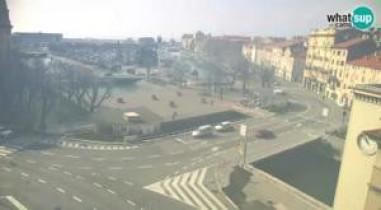Preview webcam image Rijeka - Rjecina, Fiumara and Tito Square