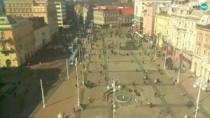 Preview webcam image Zagreb - Ban Jelačić Square