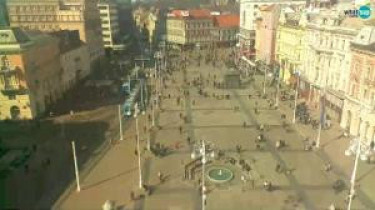 Preview webcam image Zagreb - Ban Jelačić Square