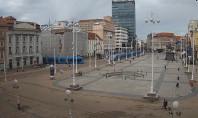 Preview webcam image Zagreb - Bana Jelacica Square