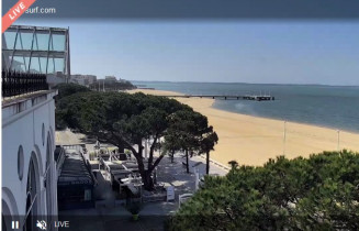 Preview webcam image Arcachon - panorama
