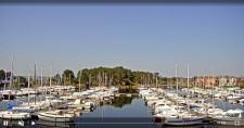 Preview webcam image Hourtin - port