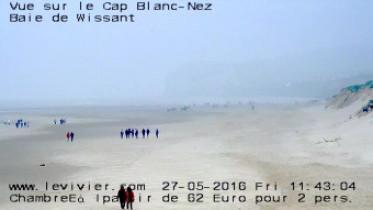 Preview webcam image Wissant - pláž