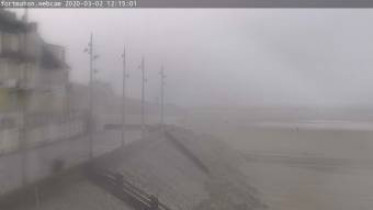 Preview webcam image Fort-Mahon - beach