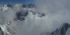 Preview webcam image Chamonix-Mont-Blanc -  Mont Blanc Valley