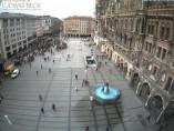 Preview webcam image Munich - Marienplatz